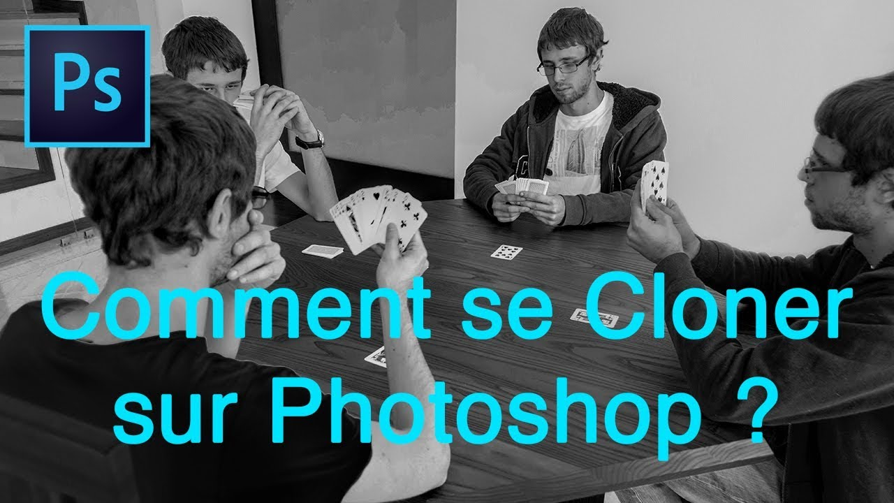 Comment se Cloner sur Photoshop ?